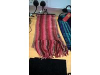 Scarves and gloves and single scarves for sale