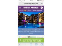All inclusive Turkey holiday for 2