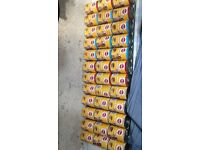 36 tins of pedigree chum chicken beef and lamb flavour