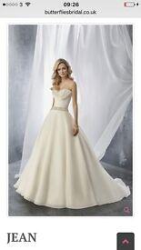 + size wedding dress