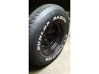 15 x 10 weller wheels with tyres (4x108 pcd)