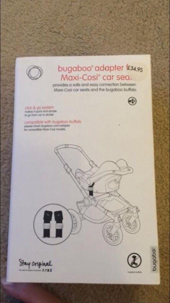 Bugaboo buffalo car seat adaptors