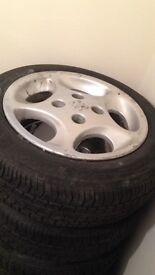 Peugeot 106 raptors gti vtr vts 306 alloys wheels