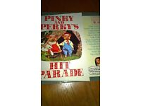 Pinky And Perky's Hit Parade Old Vinyl Record