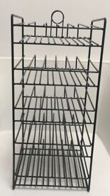 Black Wire Counter Display for small bottles
