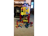 Bob The Builder Electronic Work Bench with assorted Power Tools and Hand Tools