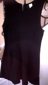 lovely strechy skater dress size 10 i think its from h-m