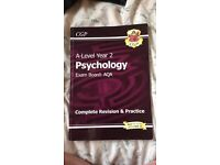 Used, A Level psychology revision books for sale  Nottinghamshire