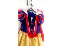 Disney Snow White Dress 9-10yrs £6