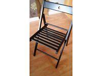Black Ikea desk chair