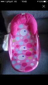 Summer babies' bath support seat