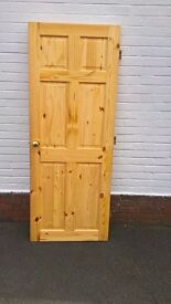 Pine internal doors including furniture and fittings