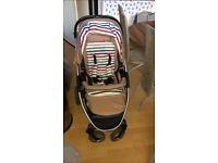 hauck pushchair and car seat