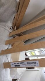 Small double bed slats