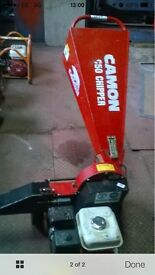 Petrol chipper with Honda engine