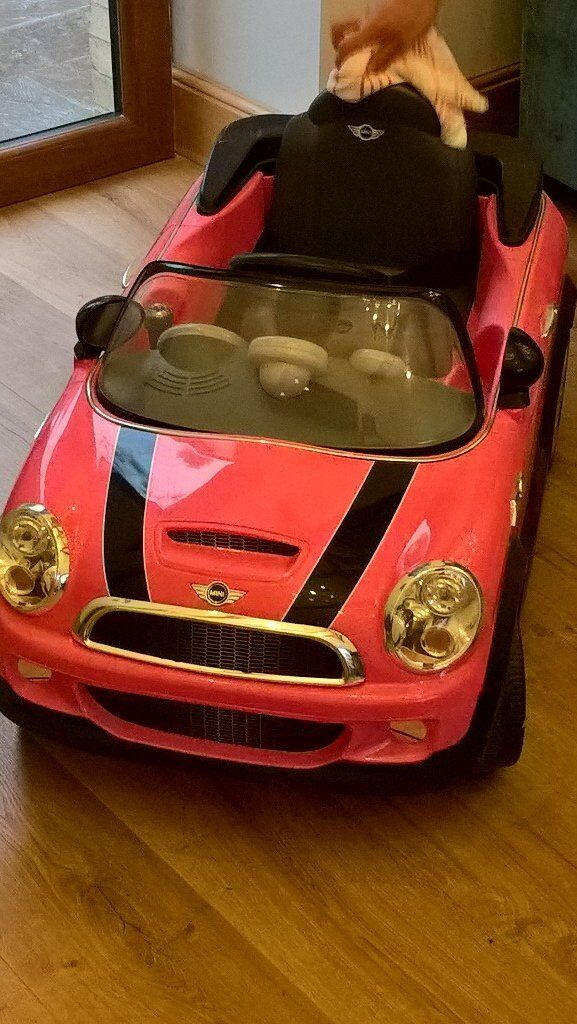 mini cooper electric car for kids