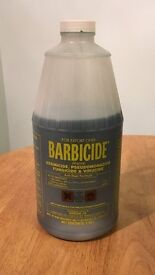 Barbicide Disinfectant Concentrate Solution AntiRust Formula GERMICIDAL 64Oz bottle 1.89l
