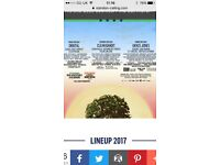 Standon calling camping weekend tickets