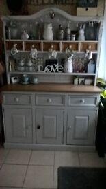Large pine dresser