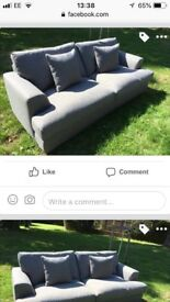 Nearly new sofa