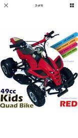 Kids 50cc quad bike, swap PS3 and cash?!?