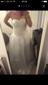 Size 12-14 Wedding dress.