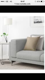 Sofa - almost new- ikea nockelby 2 seater