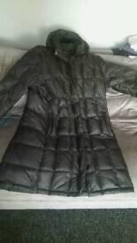 Woman's genuine north face metropolis coat size large