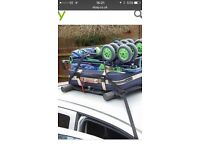 Roof rack soft universal fits all cars