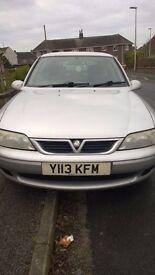 Vauxhall Vectra 1.8L Club, 5 Door, 16v - MOT til April 2017 - Great runner