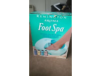 Remington Aromatherapy Foot Spa in original box