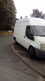 Ford transit van 2007 lwb hightop