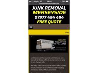 Rubbish Removal/furniture items/single items/full loads/House Clearance/man and van 07977 494 494