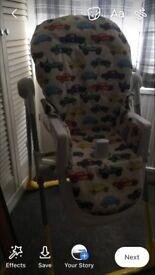 Cosatto rev up highchair
