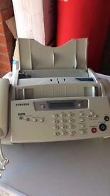 fax machine and printer