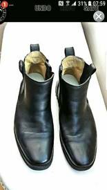 Mens real leather Chelsea Boots