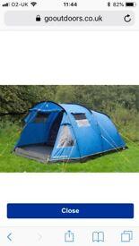Hi Gear 5 Man Tent Inc Extras
