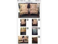 Two Parker Knoll winged armchairs - brilliant condition