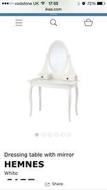 IKEA HEMNES White dressing table