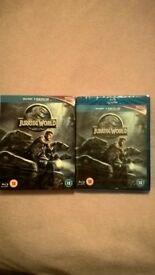 Jurassic World Blu-ray (Sealed)