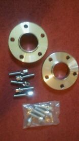 BMW 20mm wheel spacers with extended bolts