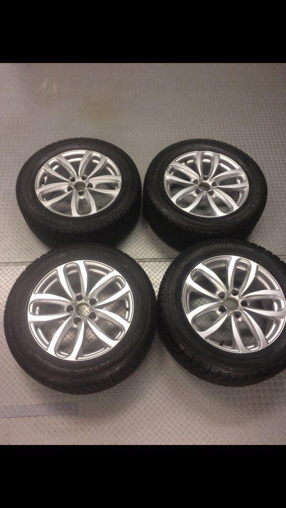 BMW X5 / X6 winter tyres & wheels