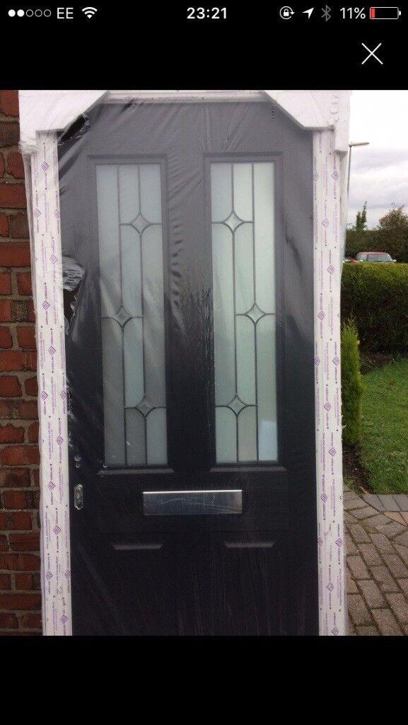 Composite door/rock door