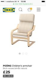 Ikea poang kids chair