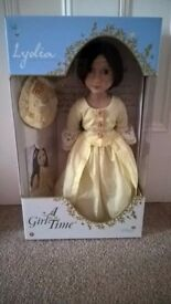 Brand New - A Girl for All Time - Lydia - Georgian collectable doll