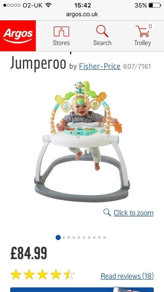 Fisher price jumparoo