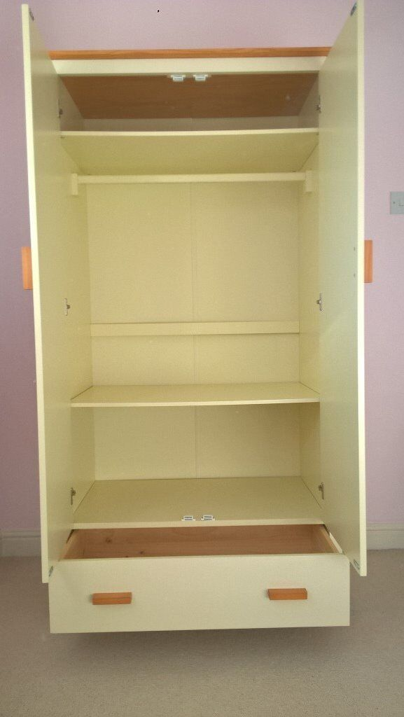 Babies R Us 3 Piece Cream Good Quality Nursery Furniture