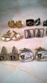 Cuff Links various & tie pins !