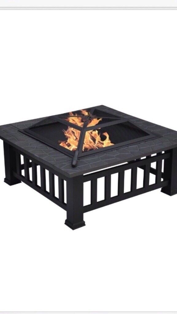 Brand new fire pit -perfect Christmas present