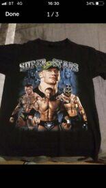 Wrestling T-shirts x2